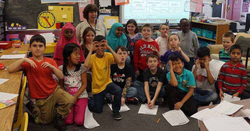 Joan Benjamin's Class