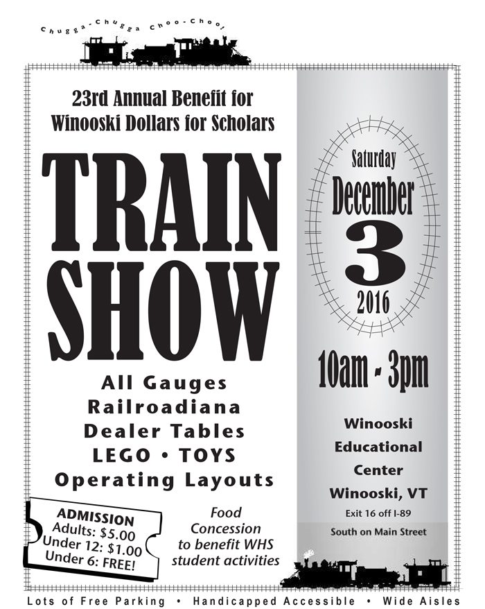 Visual banner for Train Show information