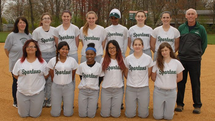 Junior Varsity Softball Roster Picture 2016