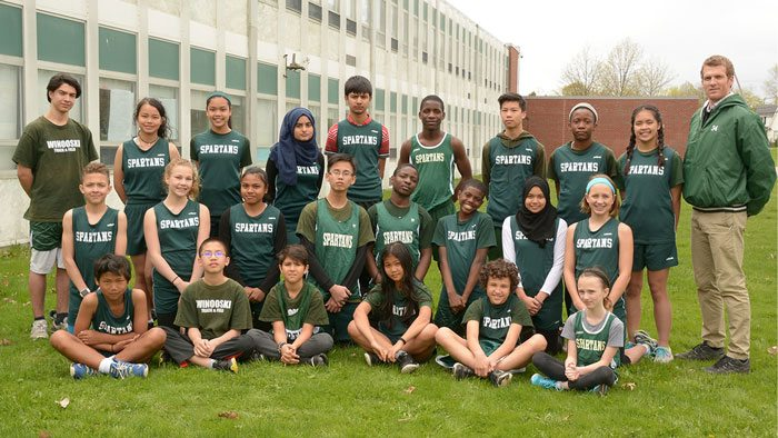Middle School Track & Field Roster Picture 2016