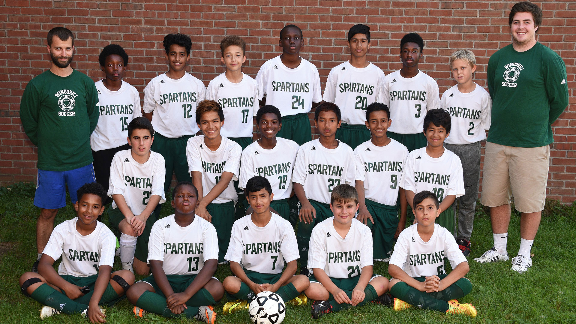 Middle School Boys Soccer Roster Picture 2017