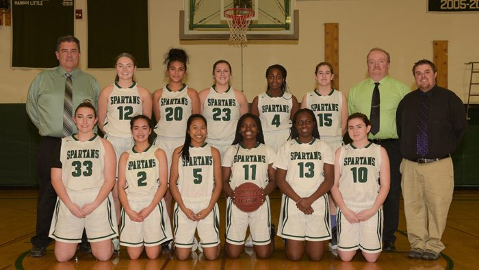 Varsity and JV Girls Basketball Roster Picture 2017